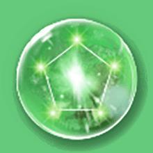 緑オーブの画像
